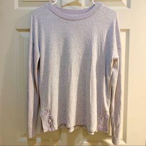 PINK ROSE Light Purple Super Soft Sweater Size M